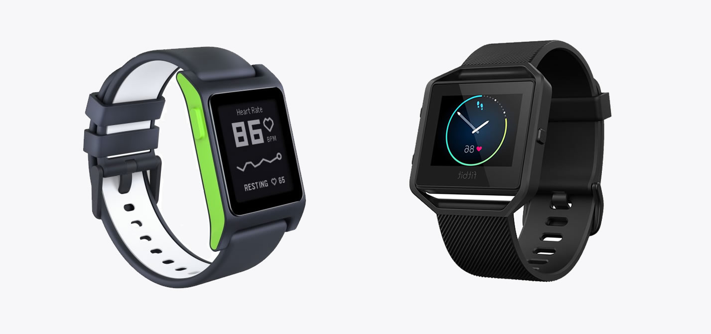 Pebble 2 vs Fitbit Blaze